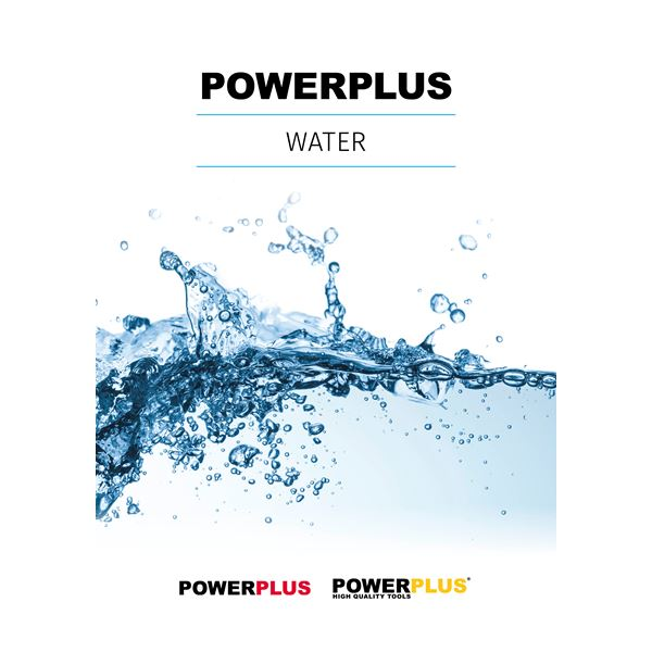 CATALOGUE POWERPLUS WATER