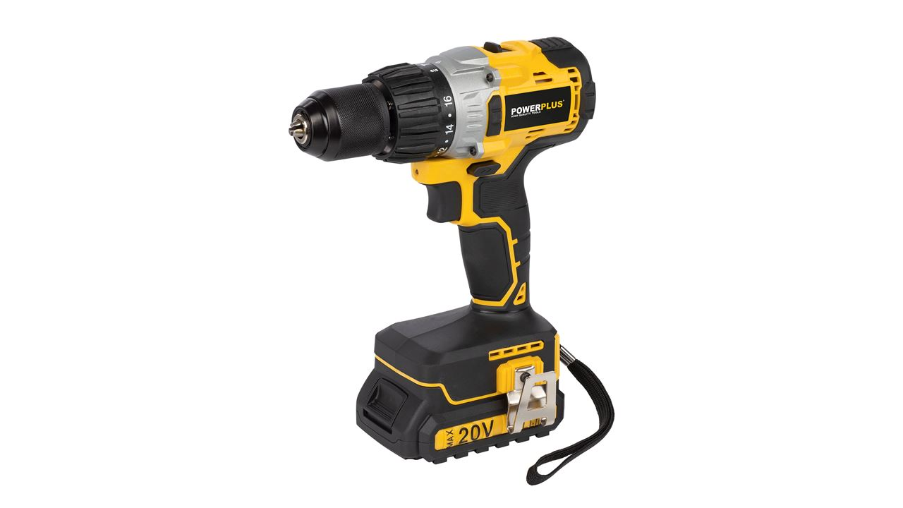 POWX00450 BRUSHLESS IMPACT DRILL/SCREWDRVR 20V LI-ION 2 BAT