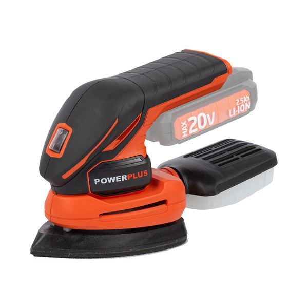 PALM SANDER 20V (NO ACCU)