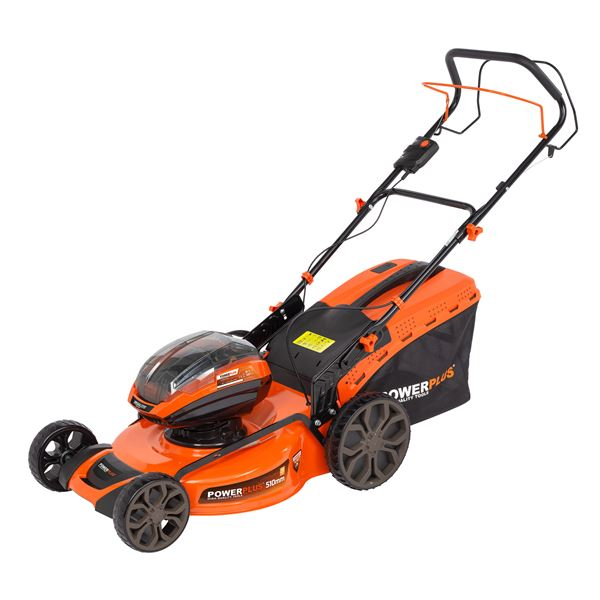 LAWNMOWER 2X 40V 510MM (NO BATT.)