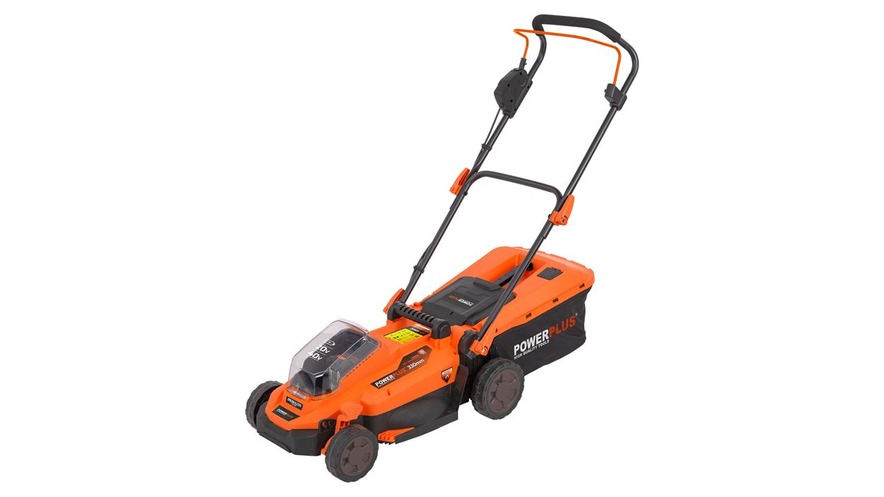 POWDPG7556 LAWNMOWER 20V 330MM (NO BATT.)