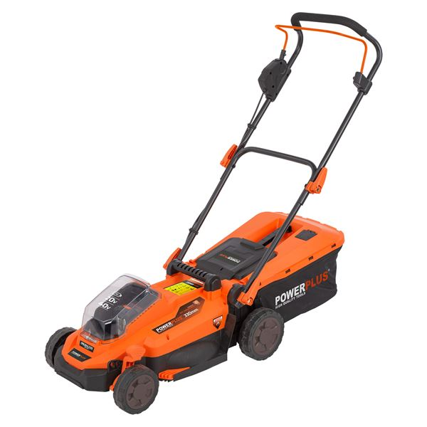 LAWNMOWER 20V 330MM (NO BATT.)
