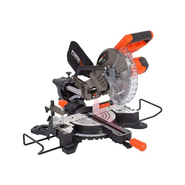 MITRE SAW TELESCOPIC 20V 210MM (NO BATT.)