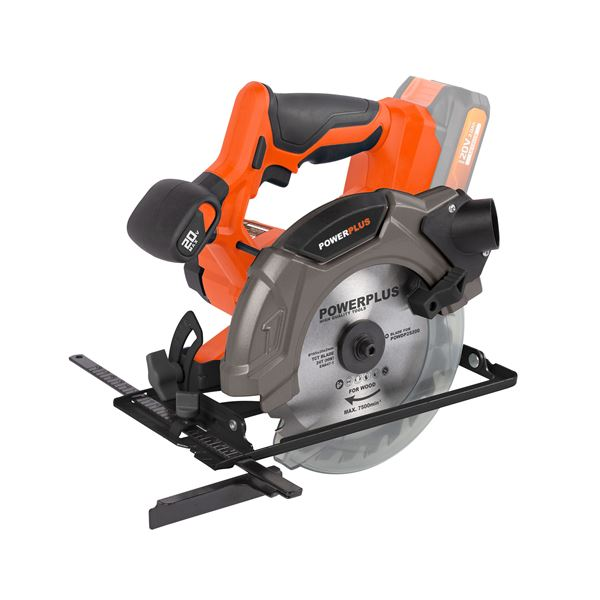 CIRCULAR SAW 20V (NO BATT.) 165MM