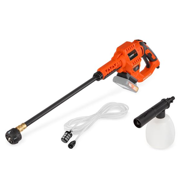 HIGH PRESSURE CLEANER  20V (NO BATT.)