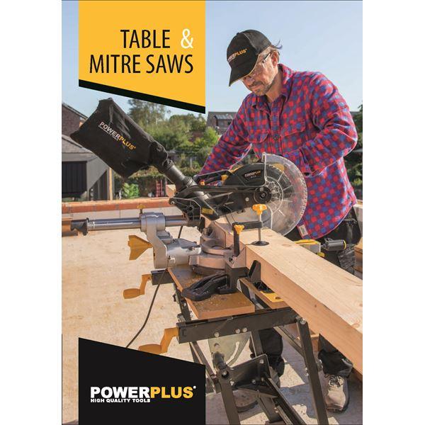 CATALOGUE  POWERPLUS TABLE & MITRE SAWS