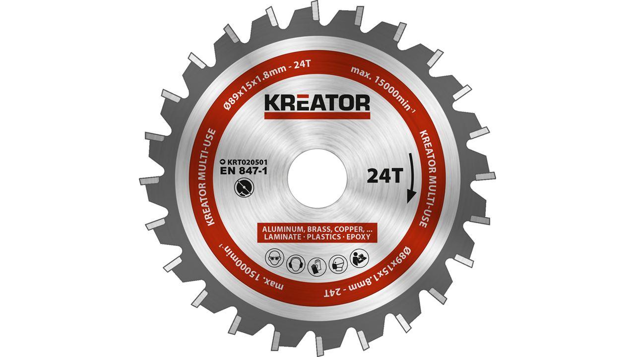 Cuchilla circular KREATOR KRT100301