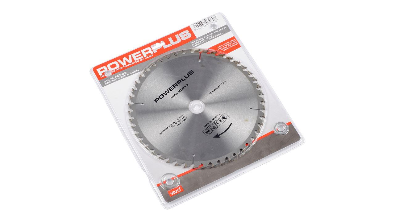POWAC725 SAW BLADE 250mm 48T RED