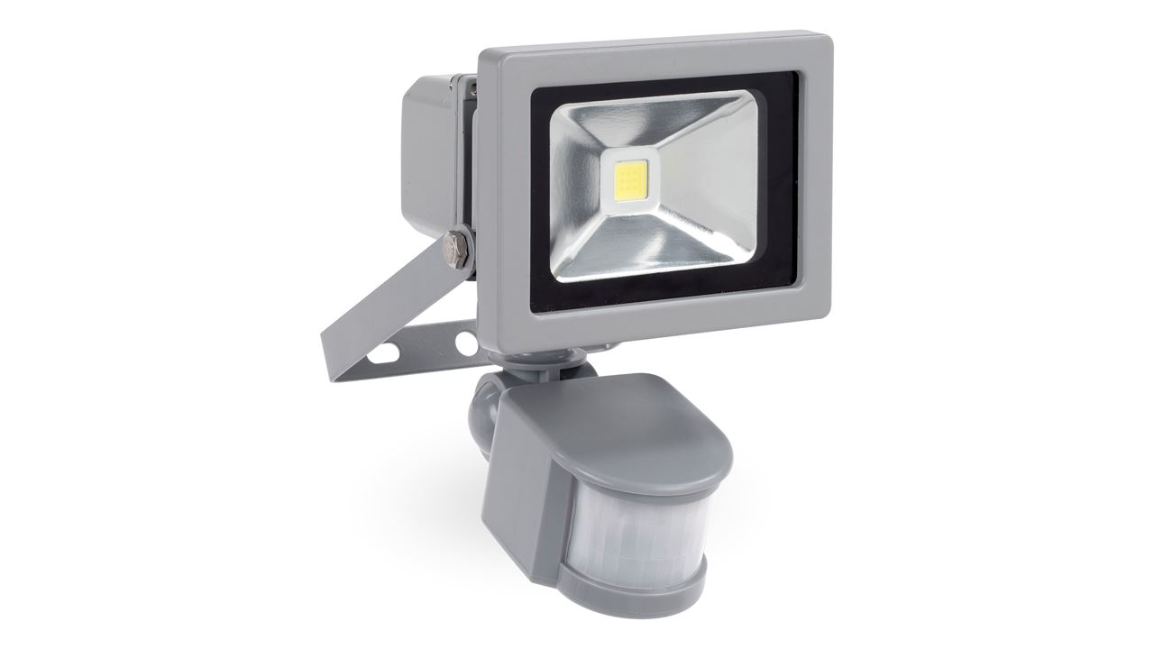 POWLI221 LED FLOODLIGHT 10W + SENSOR
