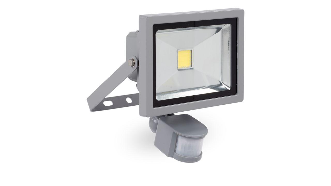 POWLI231 LED FLOODLIGHT 20W + SENSOR
