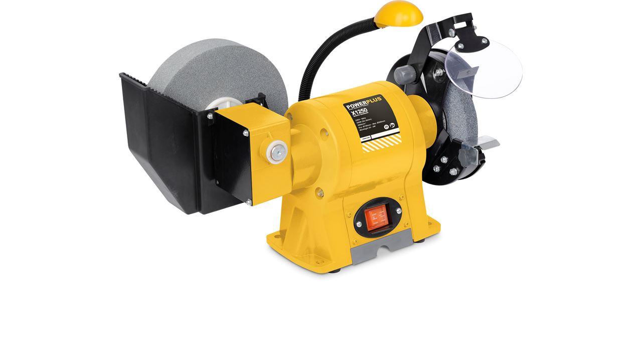 POWX1250 BENCH GRINDER COMBI 350W