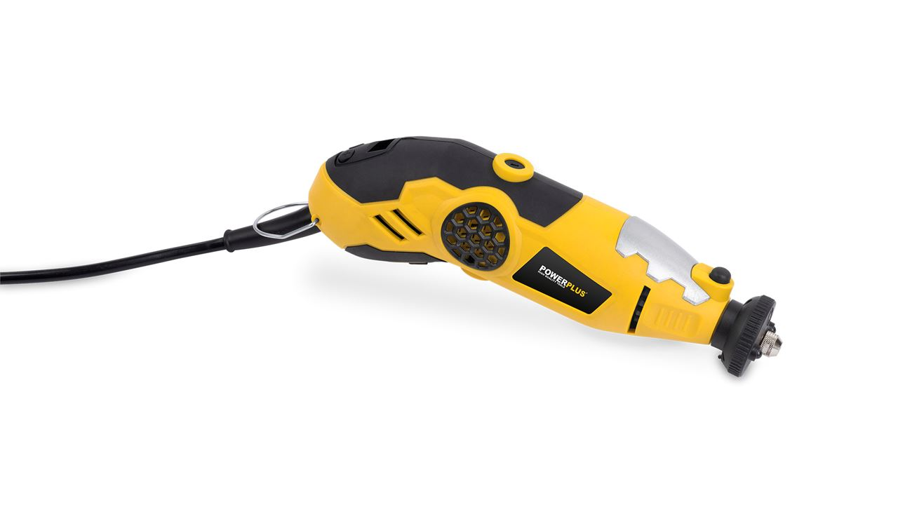 POWX1340 ROTIERENDES MULTITOOL 180W + 100 ACC