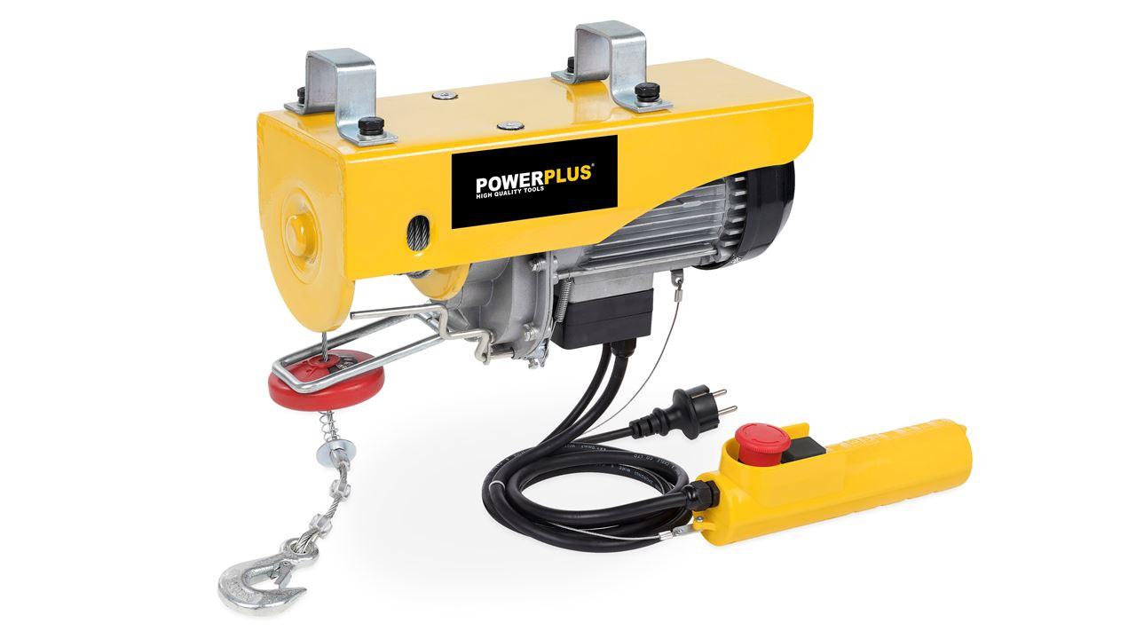 POWX901 POLIPASTO ELÉCTRICO 200/400 KG 980W