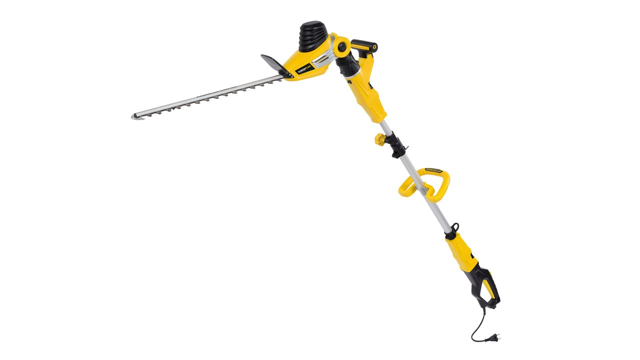 POWXG2042 EXT. POLE HEDGE TRIMMER 750W 560MM