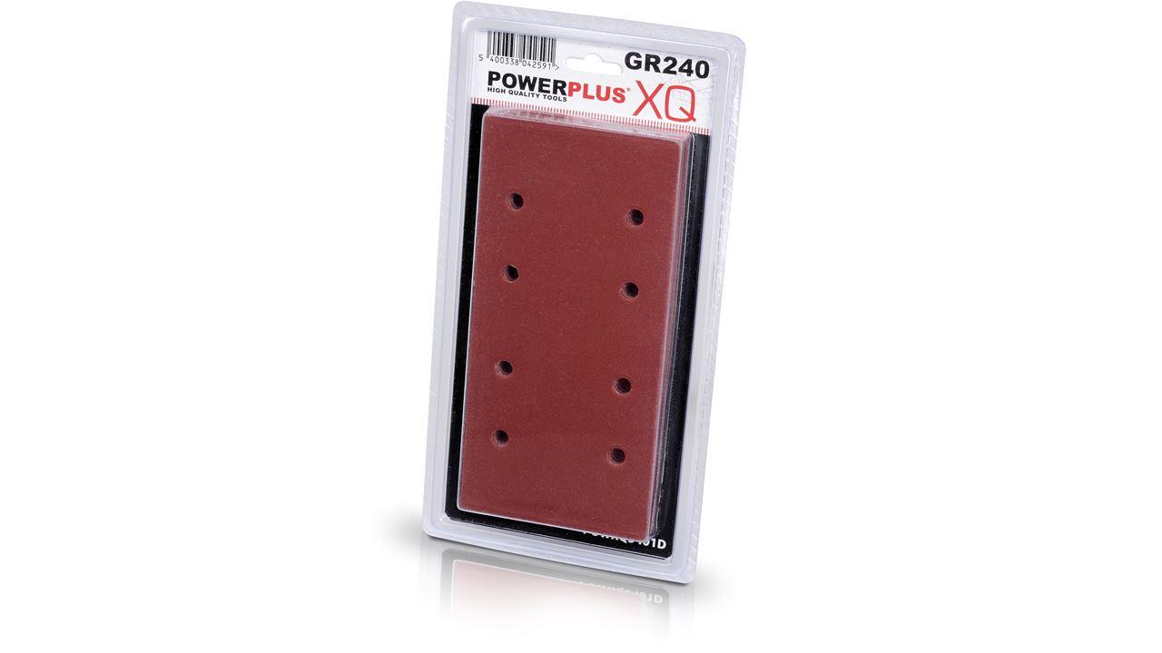 POWXQ5401D 10X SAND PAPER GR240 POWXQ5401