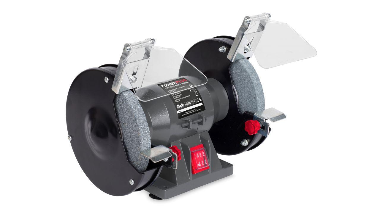POWE80080 BENCH GRINDER 150W 150mm