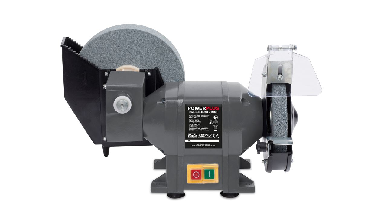 Astounding Powe80085 Bench Grinder Wet Dry 250W Caraccident5 Cool Chair Designs And Ideas Caraccident5Info
