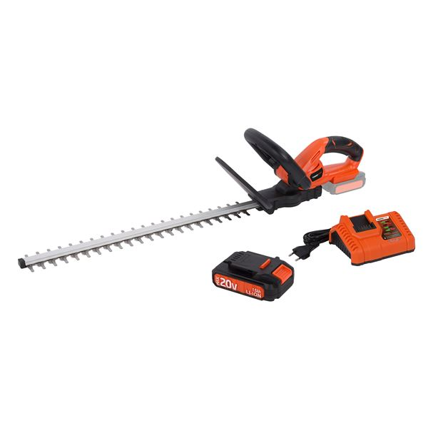 HEDGE TRIMMER 20V+CHARGER+BATTERY 20V LI-ION