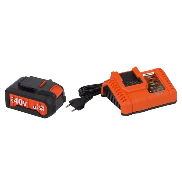 CHARGER 20V/40V + BATTERY 40V LI-ION