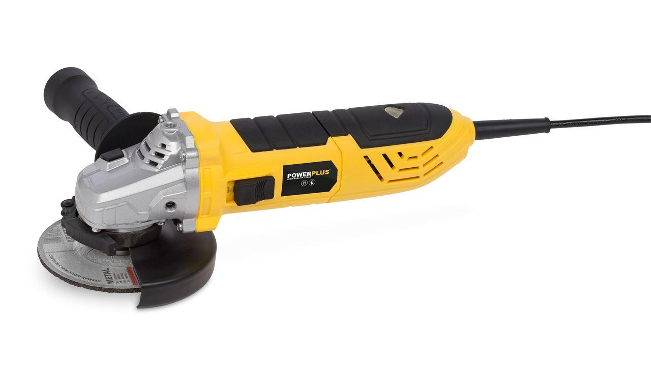 POWX0611 ANGLE GRINDER 900W Ø115MM