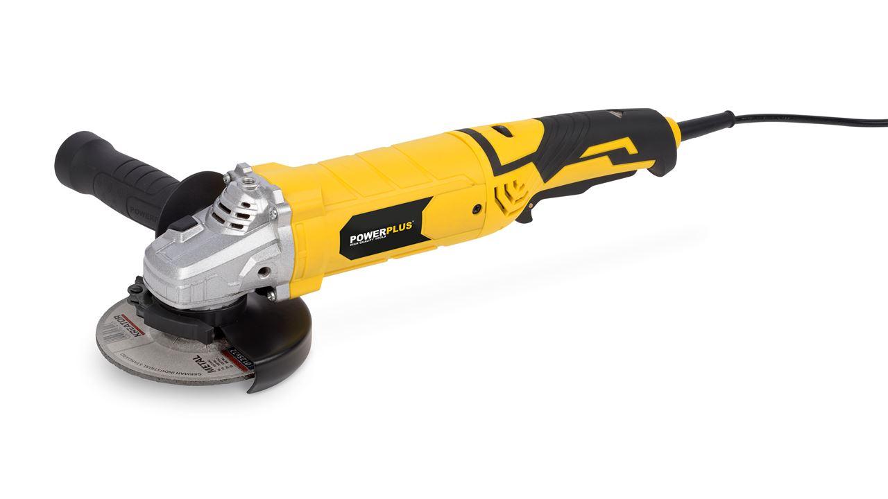 POWX0614 ANGLE GRINDER 1200W Ø125MM