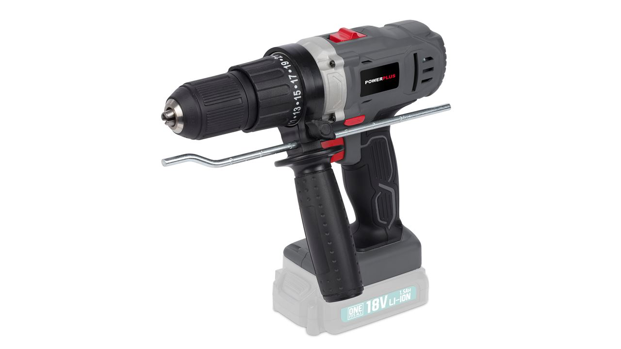 POWEB1520 IMPACT DRILL/SCREWDRIVER 18V LI-ION (NO ACCU)