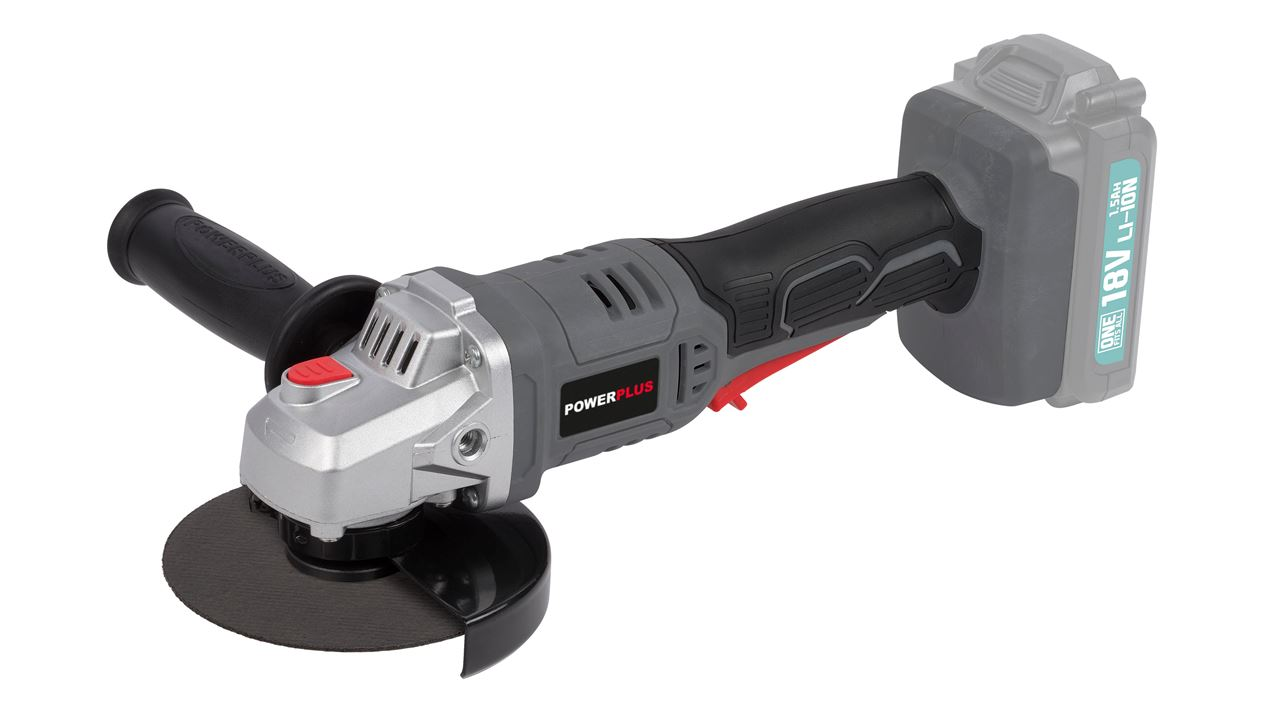 POWEB3510 ANGLE GRINDER 18V 115MM LI-ION (NO ACCU)