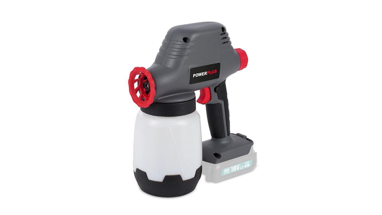 POWEB5510 PAINT SPRAY GUN 18V (NO ACCU)