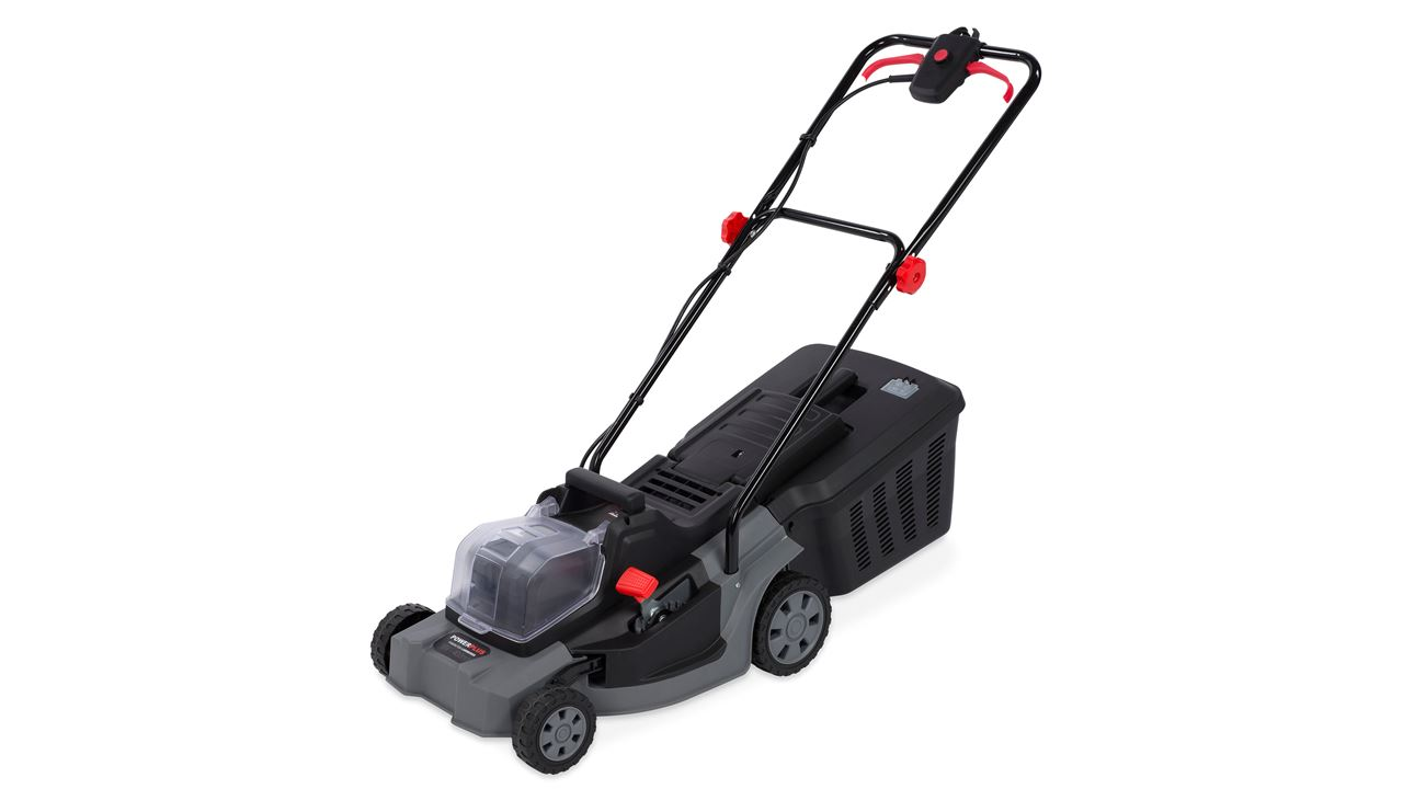 POWEBG7560 LAWNMOWER 2x18V LI 400mm (NO ACCU)