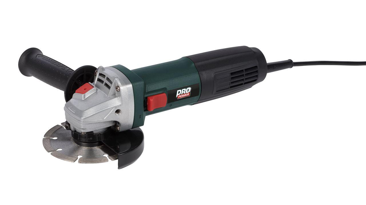 POWP1010 ANGLE GRINDER 720W Ø115mm