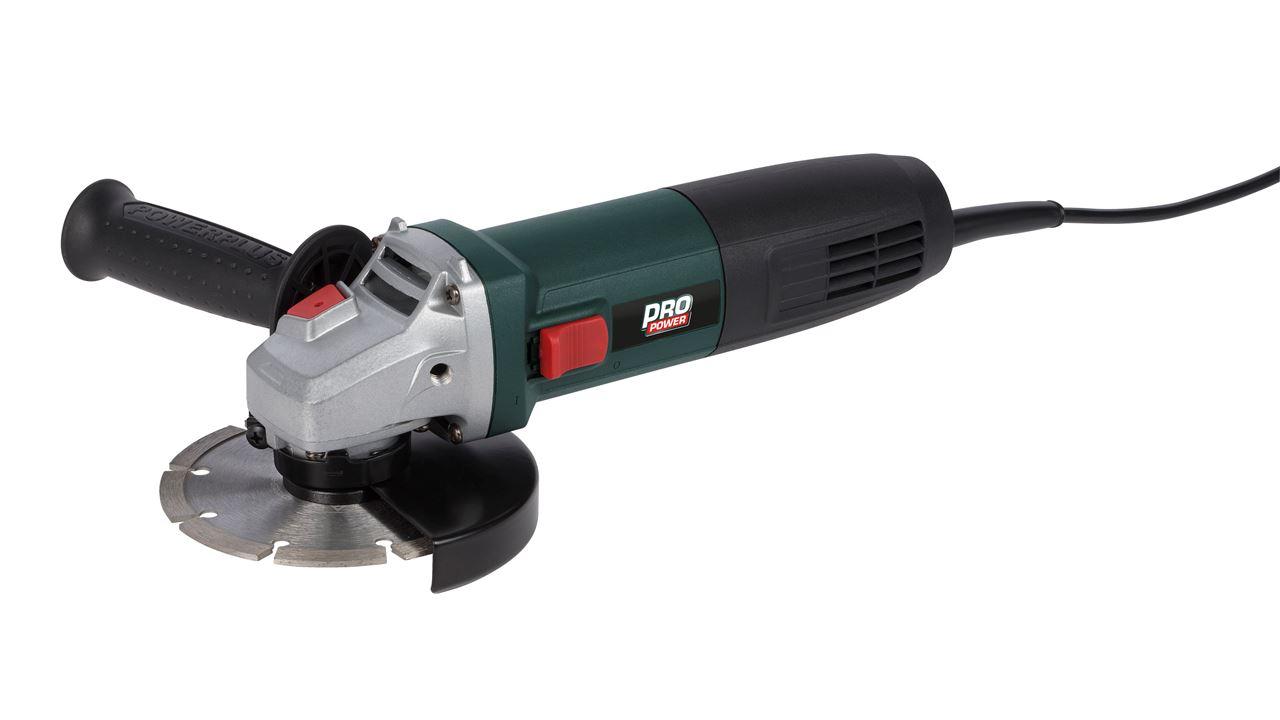 POWP1020 ANGLE GRINDER 850W Ø125mm