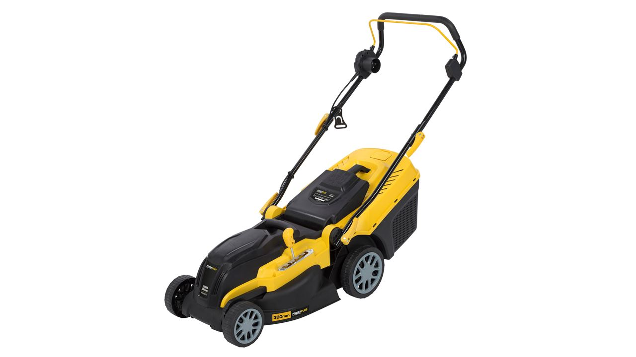 POWXG6251 LAWNMOWER 1600W 380MM