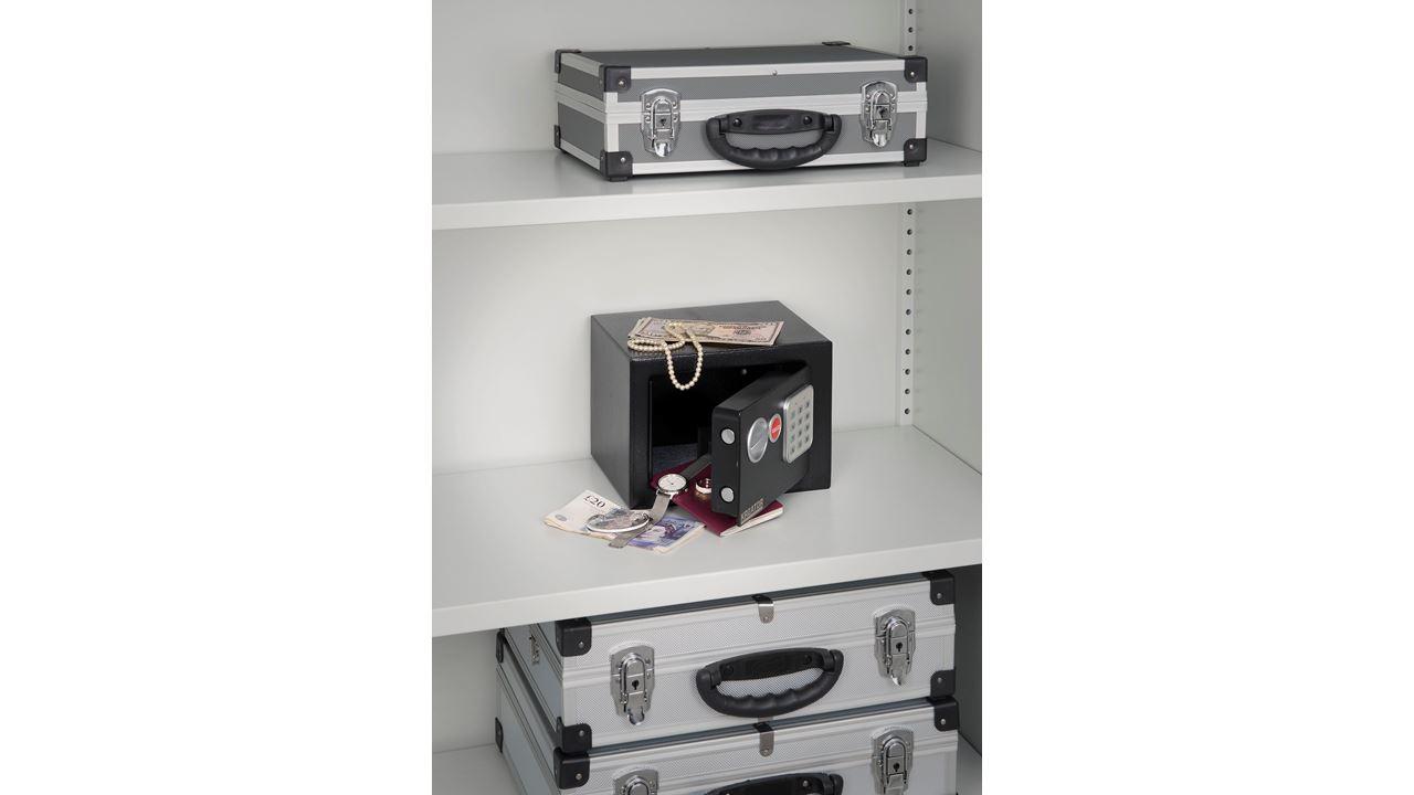 KRT692007 ELECTRONIC MINI SAFE 230x170x170mm
